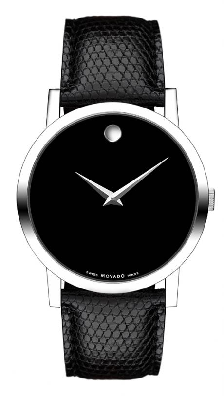 movado museum classic gold-platet