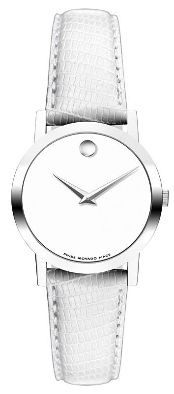 movado museum classic steel lady