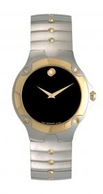 Movado se/sports edition gold-platet, steel