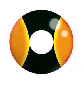 Dilly Eyes - Yellospace  getönte Kontaktlinse