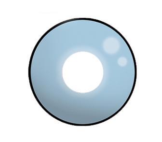 Dilly Eyes - Blue Eye - getönte Kontaktlinse
