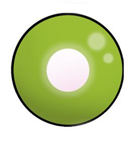 Dilly Eyes - Green Eye - getönte Kontaktlinse
