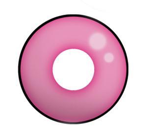 Dilly Eyes - Pink Eye - getönte Kontaktlinse