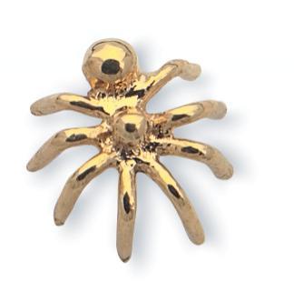 Nasenstecker: Spinne gross, 750 GG