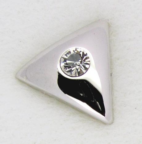 gerundetes Dreieck Screwbidoo Bauchpiercing 3611