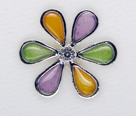 Screwbidoo Bauchpiercing 3 Farben Blume 4831