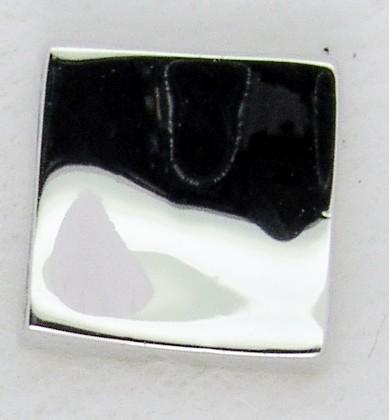 Screwbidoo Bauchpiercing Silber Quadrat 3586