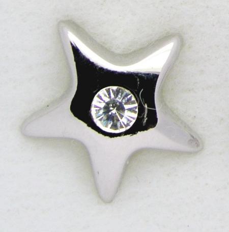 Screwbidoo Piercing Stern mit Stein 3542