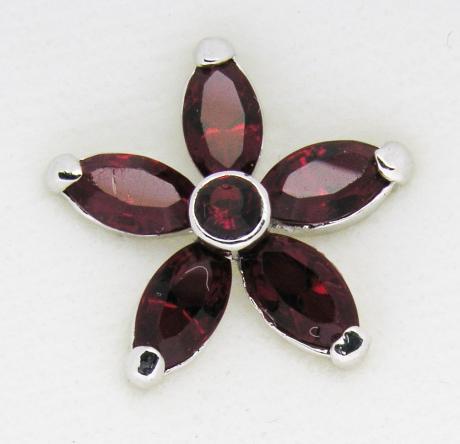 Screwbidoo Bauchpiercing 6 Steine Blume 4692